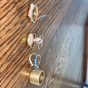 12 Free People Rings